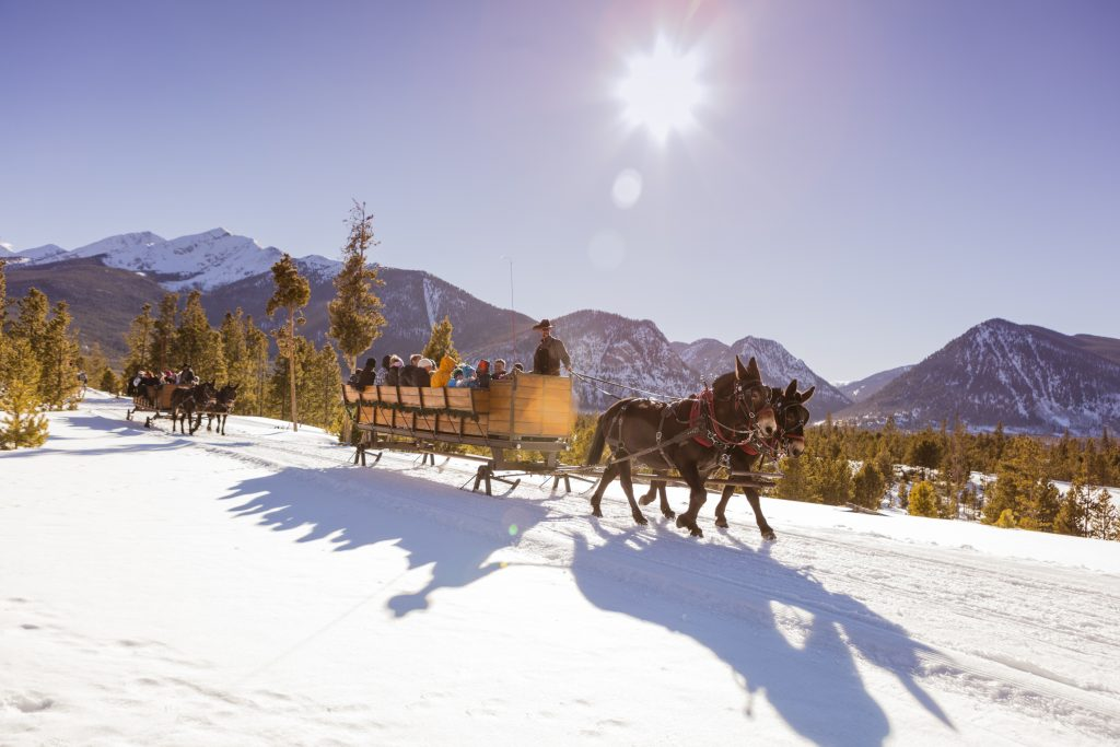 Two Below Zero Sleigh Ride, Frisco, Colorado