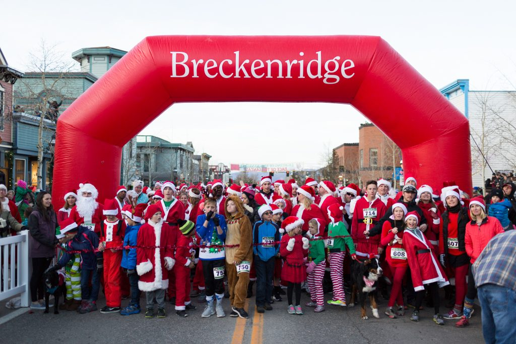 breckenridge santa run