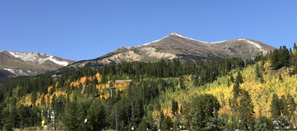 fall in breckenridge